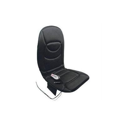 RoadPro RP1368HM 12Volt 5 Motor Heated and Massaging SeatBack Cushion Black