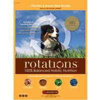 Rotations Pet Food ROTATIONS Dry Dog Food Chicken & Brown Rice Recipe, 5 lbs.