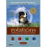 Rotations Pet Food ROTATIONS Dry Dog Food New Zealand Lamb & Potato Recipe, 5 lbs.