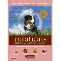 Rotations Pet Food ROTATIONS Dry Dog Food Wild Salmon & Peas Recipe, 5 lbs.