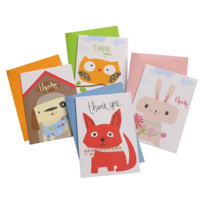 Gartner Studios Notecard Box 16 Count Zoomerang All Occasions