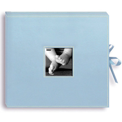 Pioneer Photo Albums Sewn Leatherette D-Ring Scrapbook