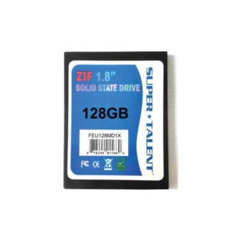 Supertalent Super Talent FEU128MD1X(SZ) DuraDrive ZT4 128GB 1.8 inch IDE Solid State Drive (MLC)