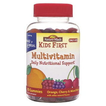 Nature Made Kid's First Multivitamin Gummies - 90 Count