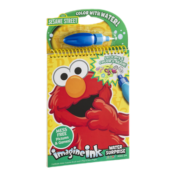 Imagine Ink Sesame Street Water Surprise Mess Free Pictures & Games