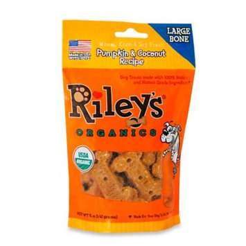 Pumpkin & Coconut Recipe Large Bone - 5 oz (142 Grams) by Riley's Organics