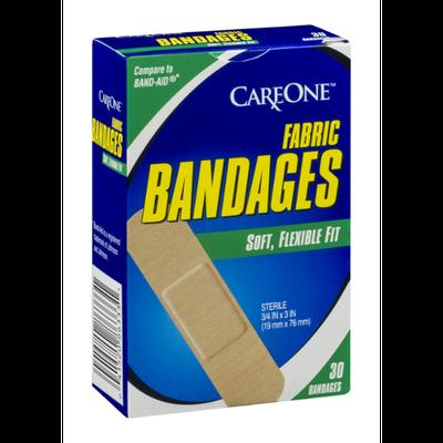 CareOne Fabric Bandages - 30 CT