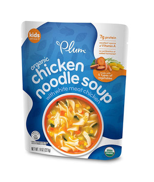 Plum Organics Chicken Noodle Soup With White Meat Chicken