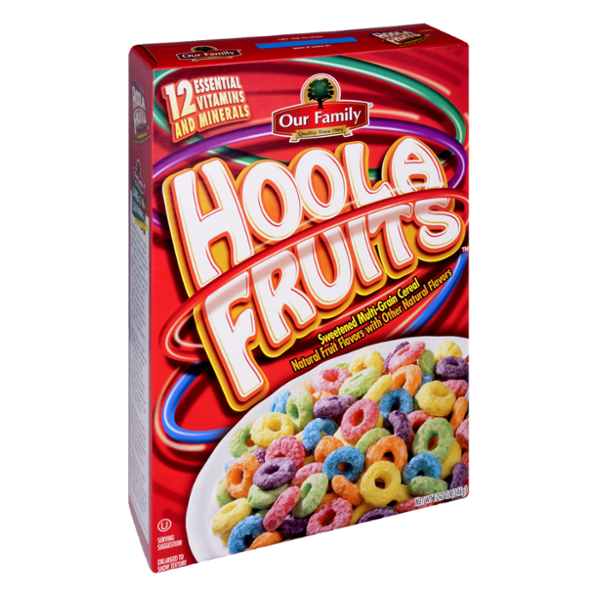 Our Family Hoola Fruits Cereal