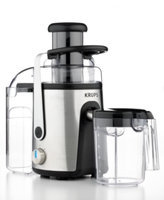 Krups ZY403851 Definitive Series Stainless Steel Extractor Juicer