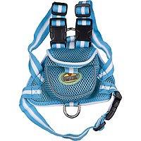 Pet Life Blue Backpack Dog Harness, Medium ()