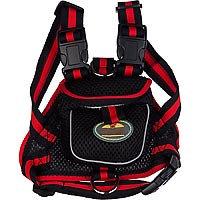 Pet Life Black Backpack Dog Harness, Large ()