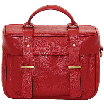 Jill-E Jill-e Juliette All Leather DSLR Camera Bag (Red)