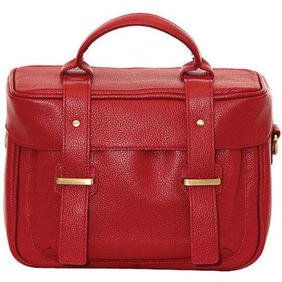 Jill-E Jill-e Juliette All Leather DSLR Camera Bag (Red)