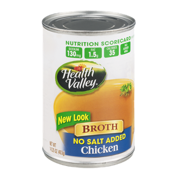 Health Valley Broth Chicken No Salt Added