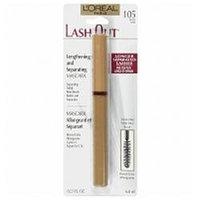 L'Oréal Lash Out Lengthening and Separating Mascara, Black .23 fl oz (6.8 ml)