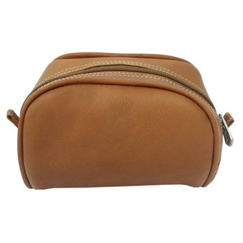 Piel 2405-CHC Chocolate Cosmetic Bag
