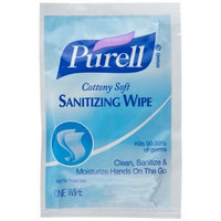 PURELL 9026-1M Cottony Soft Sanitizing Wipes (Pack of 1000)