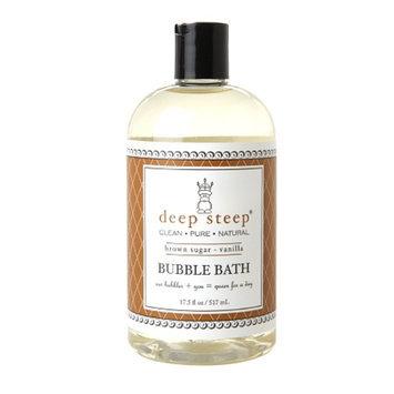 Deep Steep Bubble Bath, Brown Sugar Vanilla, 17.5 fl oz