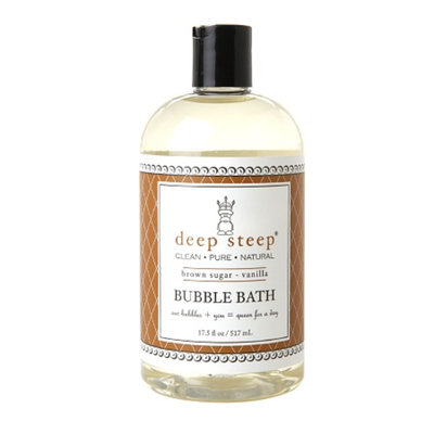 Deep Steep Bubble Bath, Brown Sugar Vanilla, 17.5 fl oz