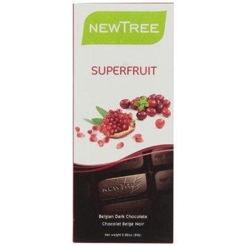 Newtree tree Superfruit 65% Cocoa Dark Chocolate, 2.82-Ounce (Pack of 6)