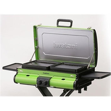 Iwatani IW-BBQ-GR G-Station Portable Butane Grill Green
