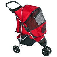 Discount Ramps Pampered Pet Jogging Stroller for Small Dogs and Cats