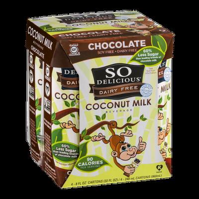 So Delicious Dairy Free Coconut Milk Chocolate - 4 CT