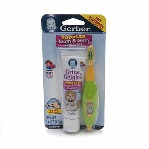 NUK Gerber Grins & Giggles  Toddler Tooth & Gum Cleanser