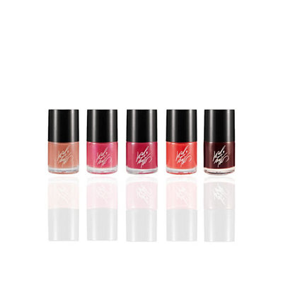 Lord & Taylor Five Piece Fashion Nail Collection-ONE COLOUR-One Size