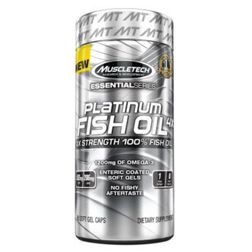 Muscletech Platinum Fish Oil 4X, Softgels