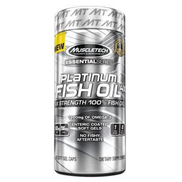 Muscletech Platinum Fish Oil 4X, Softgels