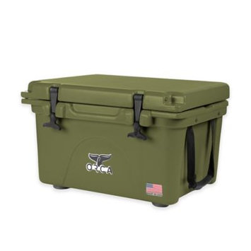 Entertainment Production House Outdoor Recreational Company of America 20 Quart Green Extra Heavy Duty Cooler