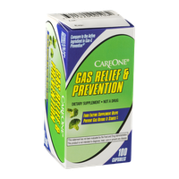 CareOne Gas Relief & Prevention Dietary Supplement - 100 CT