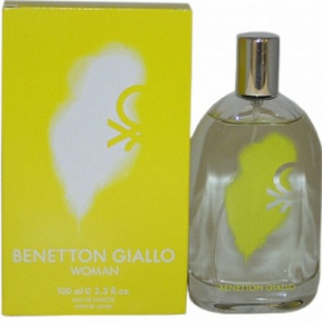 Benetton Giallo Eau de Toilette Spray, 3.3 fl oz
