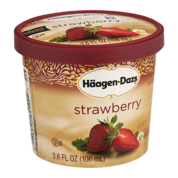 Häagen-Dazs Ice Cream Strawberry
