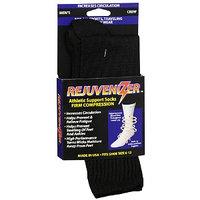 Rejuvenizer Men's Crew Firm Compression Athletic Support Socks