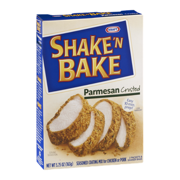 Kraft Shake 'N Bake Seasoned Coating Mix Parmesan Crusted