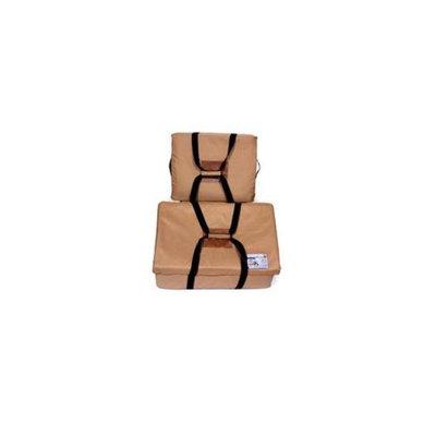 Trophy Bag Kooler TBK7TN 2 Pack Ultimate Soft Sided Cooler, Large & Small Tan Cooler