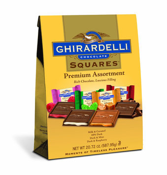 Ghirardelli Chocolate Squares Premium Assortment Bag