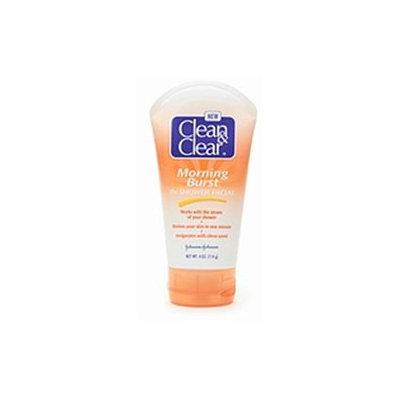 Johnson & Johnson Clean & Clear Morning Burst In, Shower Facial, 4 oz