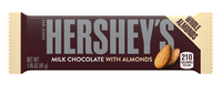 Hershey's Milk Chocolate Bar With Almonds