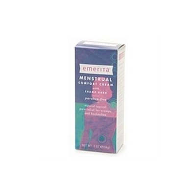 Emerita - Menstrual Comfort Cream with Cramp Bark - 2 oz.