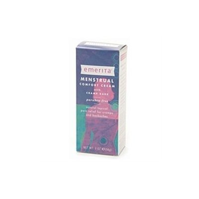 Emerita - Menstrual Comfort Cream with Cramp Bark - 2 oz.