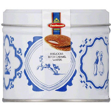 Daelmans Dutch Caramel Wafers, 8 count, 8.11 oz, (Pack of 9)