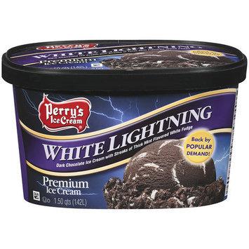 Perry's Ice Cream White Lightning Premium Ice Cream, 1.5 qt