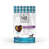 I And Love And You DOG CHEW, STIX 6IN, FR RNGR, (Pack of 6)