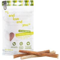I & Love & You I And Love And You - No Stink Free Ranger Bully Stix Dog Chews 6