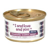 I & Love & You I and Love and You Whascally Wabbit Recipe Cat Food - 3 oz