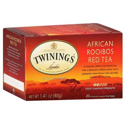 Twinings® Herbal Tea Bags African Rooibos Red